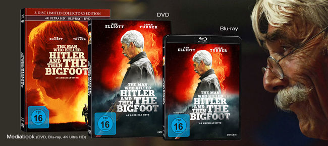 The Man Who Killed Hitler And Then The Bigfoot © capelight